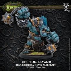 Dire Troll Brawler – Trollblood  Heavy Warbeast (resin)